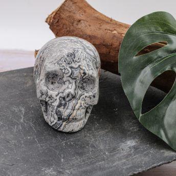 Crâne en Jaspe Picasso 2