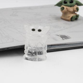 Mini Yoda Cristal de roche