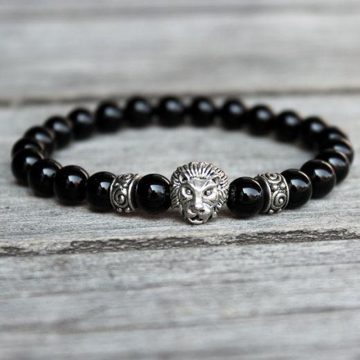 bracelet homme lion