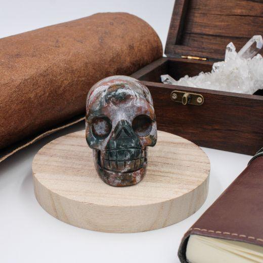 crâne jaspe