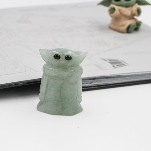 Mini Yoda Aventurine verte