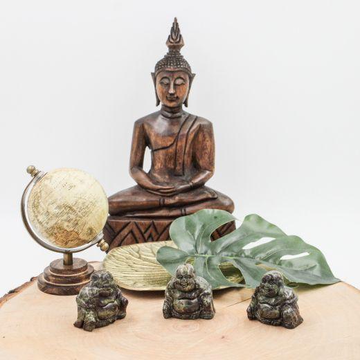 Bouddha Jaspe sang de dragon