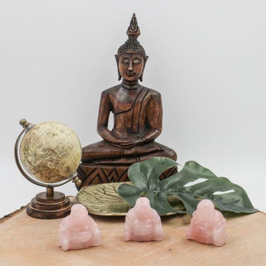 Bouddha Quartz rose