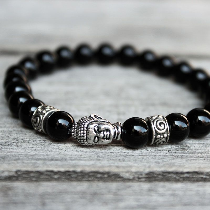 Bracelet Bouddha Onyx