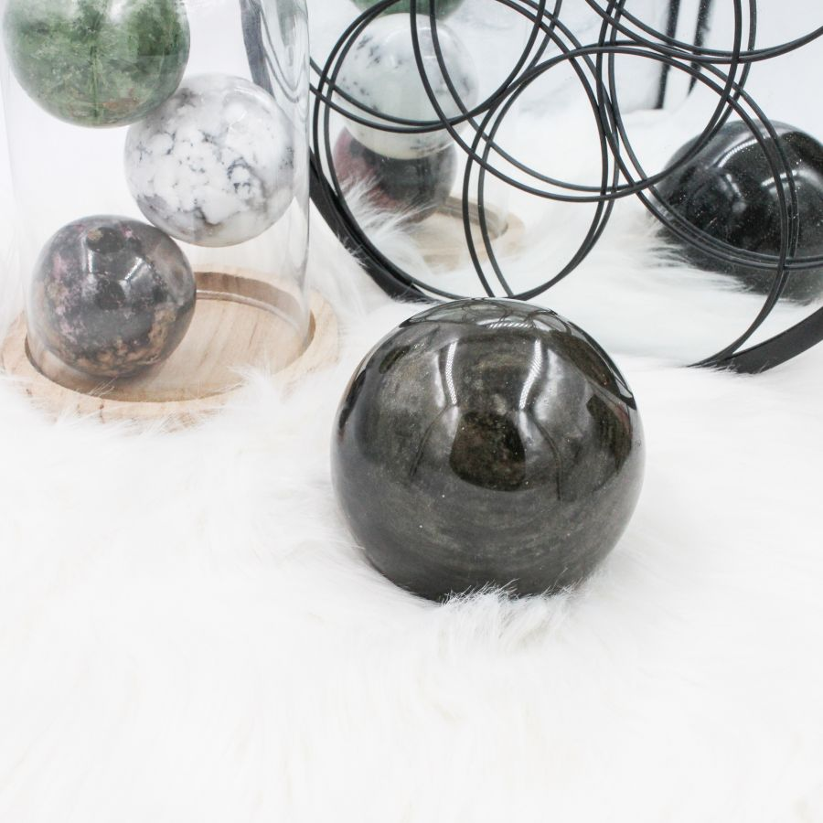 sphère obsidienne